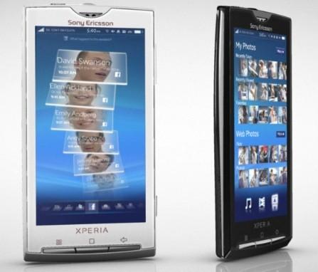 Sony Ericsson Xperia X10: niente multitouch!