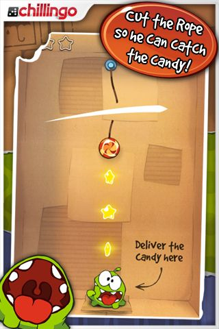 Cut the Rope in arrivo su Android