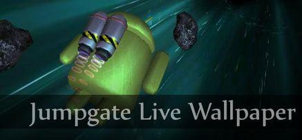 Vola nello spazio con Jumpgate Live Wallpaper!