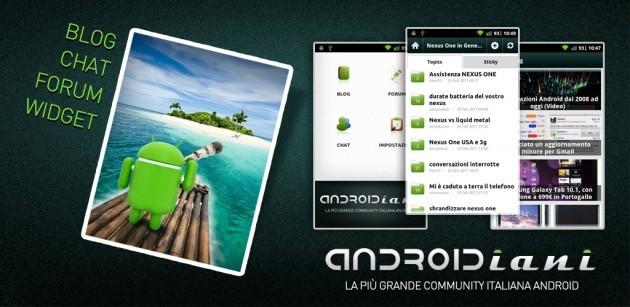 Androidiani App: L'applicazione ufficiale Androidiani