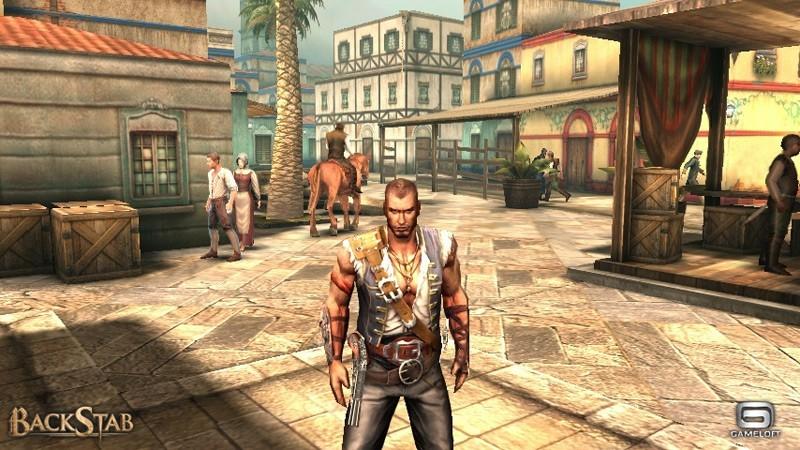 Gameloft annuncia BackStab, in esclusiva per Sony Ericsson Xperia Play
