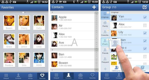GO Contacts, un'ottima alternativa alla rubrica di Android