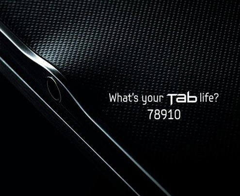 Samsung Galaxy Tab 8.9, prima immagine teaser