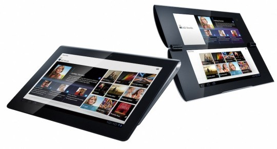 Sony svela i suoi tablet Honeycomb: S1 e S2