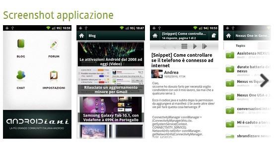 Android Market, ancora novità per gli screenshot delle applicazioni