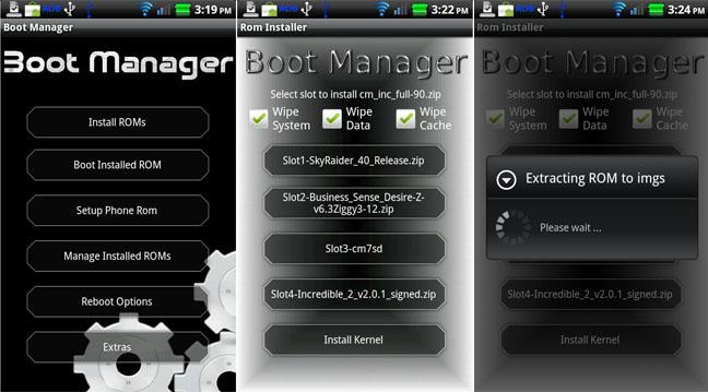 BootManager, e installi fino a 5 ROM su un solo smartphone Android