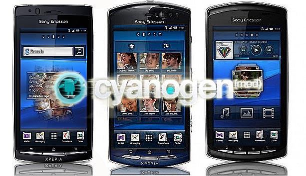 CyanogenMod anche per Xperia Play, Xperia Neo e Xperia Arc