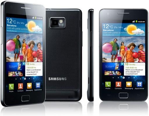 Android 2.3.5 : arrivato su kies l'update per il Galaxy S2 di H3G