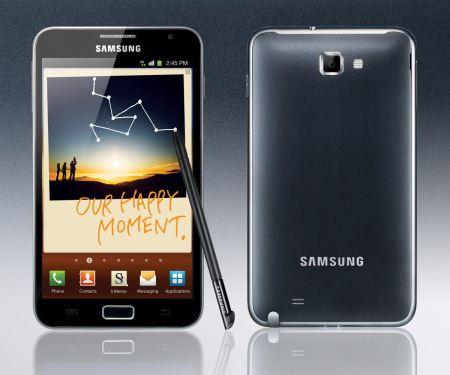 Samsung Galaxy Note : Le applicazioni native per questo device