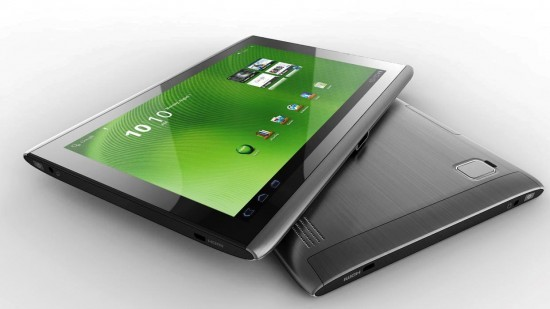 Primi firmware ICS leaked per Acer Iconia Tab A100 e A500