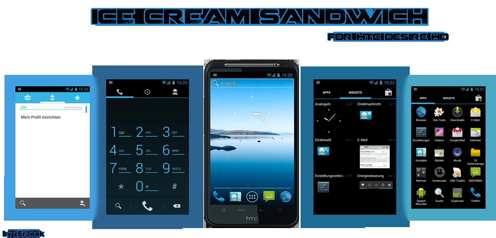 HTC Desire HD: ottimo porting di Ice Cream Sandwich