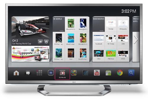 CES 2012 : LG presenta la sua Google TV 3D