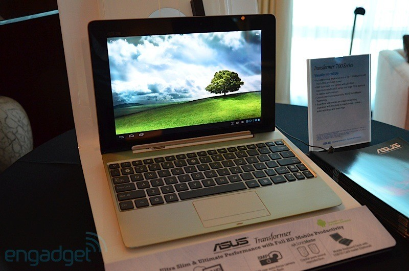 ASUS Transformer TF700T: display Full HD e nuova fotocamera frontale