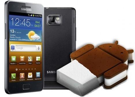 Samsung Galaxy S II: disponibili due versione beta ufficiali di Ice Cream Sandwich