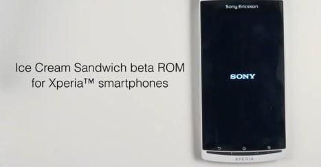 Sony Ericsson: nuovo firmware Android 4.0 per gli Xperia 2011