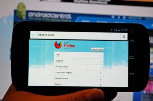 Firefox mobile si aggiorna alla release 10.0
