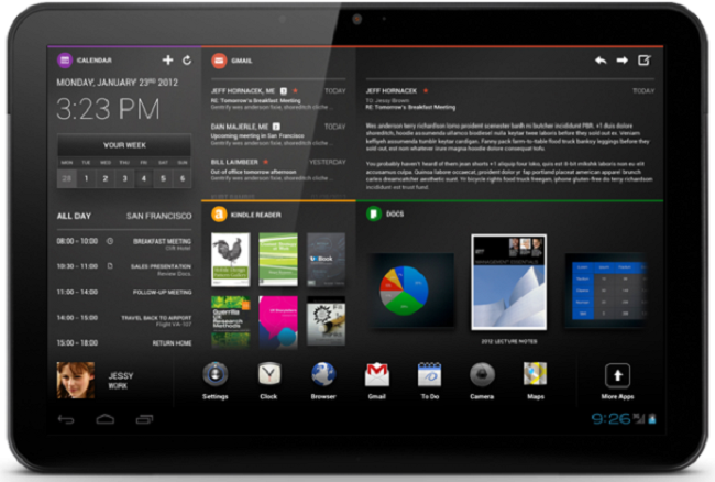 Chameleon: nuova interessante UI per tablet Android ...