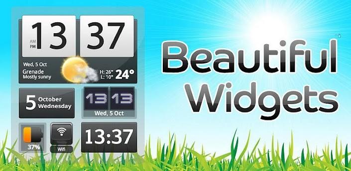 Beautiful Widgets si aggiorna alla versione 4.0: prezzo scontato per l'occasione