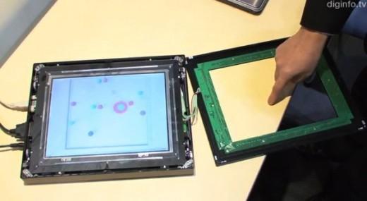 NEC: questo un possibile futuro dei display touchscreen (Video)