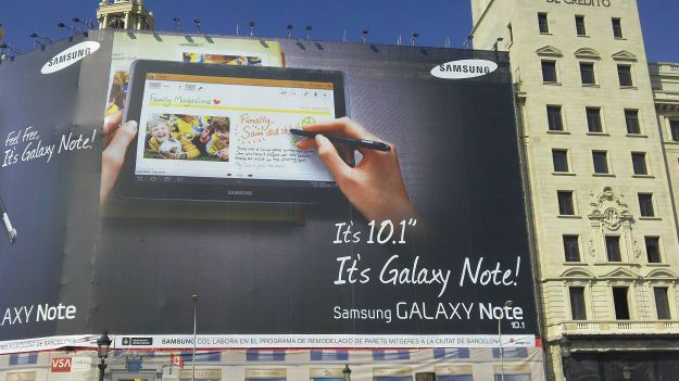 Samsung Galaxy Note 10.1 protagonista di un nuovo video