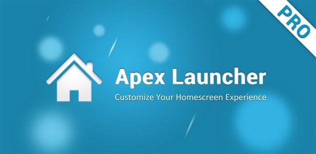 Apex Launcher si aggiorna alla versione 1.3.2