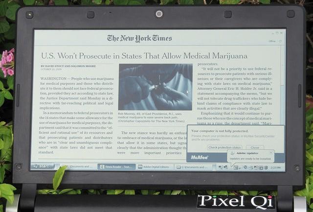 La nuova generazione di display Pixel Qi avrà risoluzioni retina e consumi molto ridotti