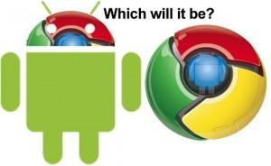 Android e Chrome OS resteranno due sistemi operativi separati, ma si avvicineranno