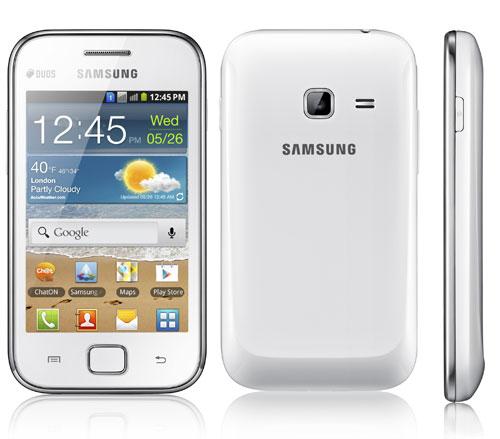 Samsung Galaxy Ace DUOS, il nuovo dual sim Android arriverà presto in ...