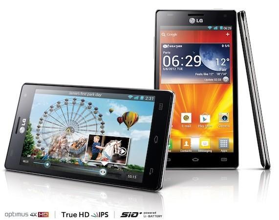Ufficiale, LG Optimus 4X HD a Giugno (anche) in Italia