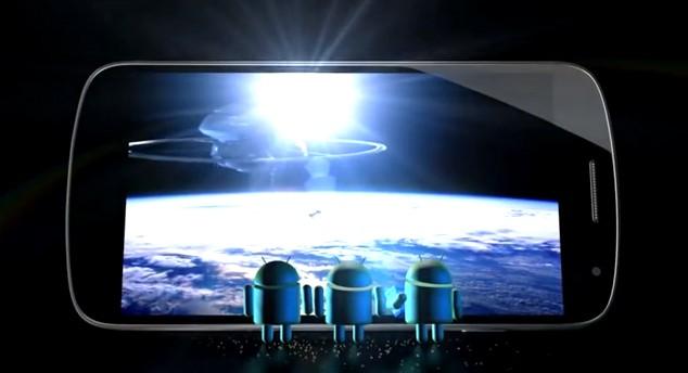 """""""Calling all Popcorn eaters"""": Google esalta lo schermo del Galaxy Nexus"""
