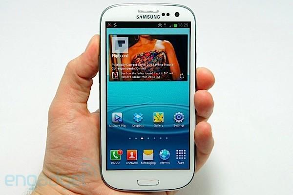 Samsung presenta Galaxy S III