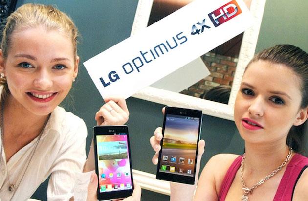 Già disponibile un aggiornamento per LG Optimus 4X HD