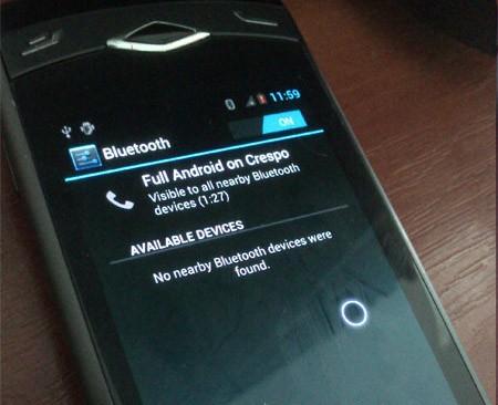 Grazie ad un hack, Android 4.0.4 arriva su Samsung Wave
