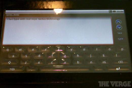 Tactus Technology: primo prototipo di display mutaforma
