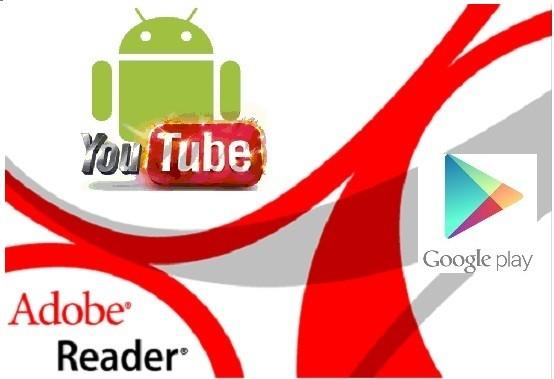 YouTube e Adobe Reader: comparsi sul Google Play Store 2 aggiornamenti importanti