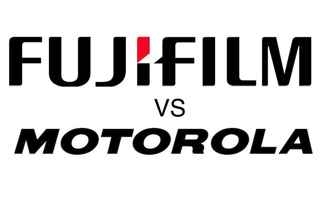 Fujifilm Vs Motorola, 4 brevetti sospetti