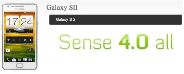 Samsung Galaxy S II: ecco la prima ROM con interfaccia Sense