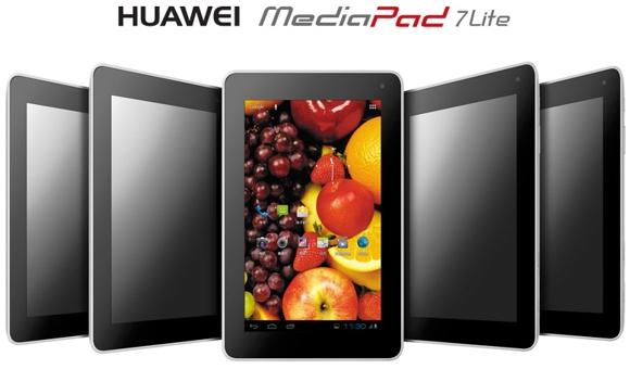Huawei presenta MediaPad 7 Lite [UPDATE - SPECIFICHE TECNICHE]