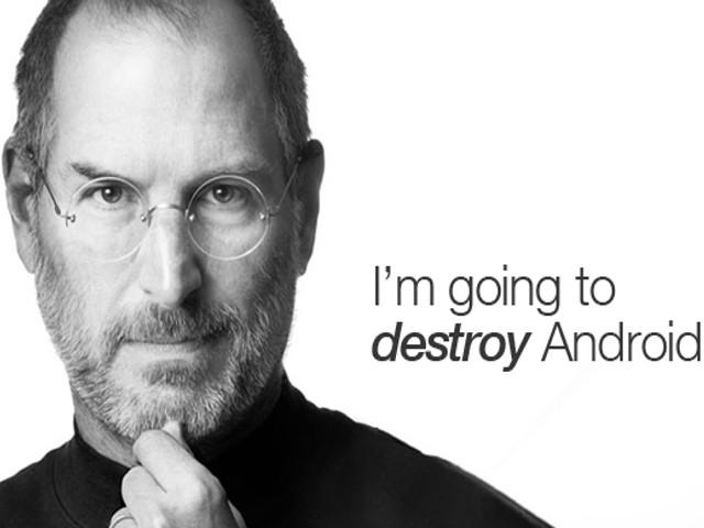 Steve Jobs voleva fare la guerra termonucleare ad Android, ma al giudice non importa.