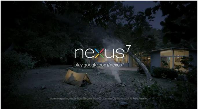 All'avventura con Nexus 7: ecco il primo spot per il tablet Google [VIDEO]