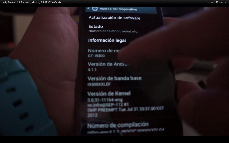 Samsung Galaxy S III: nuove funzioni per la TouchWiz con Jelly Bean