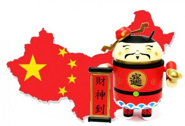 In Cina 1 miliardo di cellulari: Android detiene il 90,1% del mercato smartphone nel Q3