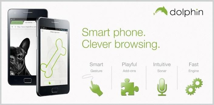 La beta di Dolphin Browser con il Dolphin Engine arriva sul Google Play Store