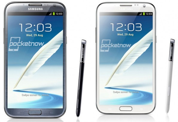 Galaxy Note vs Galaxy Note 2 - video confronto