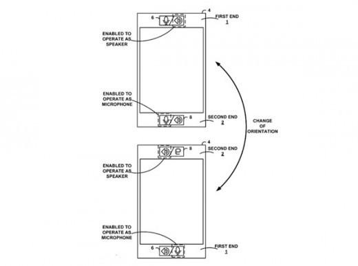 Un nuovo brevetto di Google permetterà effettuare una conversazione con entrambe le estremità dello smartphone