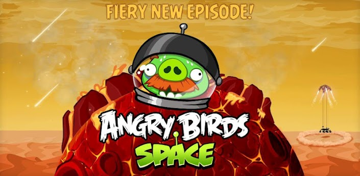Angry Birds space si aggiorna e introduce 20 nuovi livelli