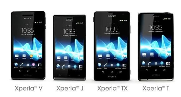 Primi benchmark per Sony Xperia T, TX e V