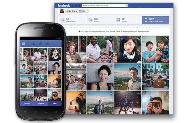 Facebook è a lavoro per testare l'auto-upload delle foto per Android