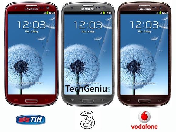 Arrivano in Italia le nuove colorazioni del Galaxy S3