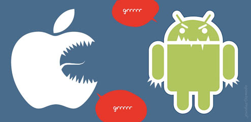 Android vs iPhone: i newyorkesi preferiscono la mela morsicata